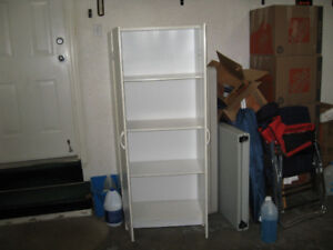 2 whit pantry cabinets