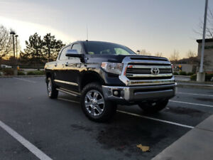 TUNDRA 1794 EDITION,LIFTED,TIRE UPGRADE,AIR BAGS,ONLY 28000 KMS.