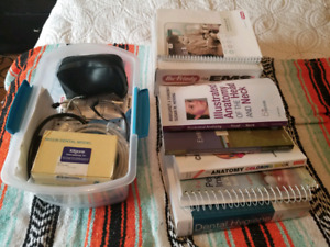 Junior Year Dental Hygiene Books and Supplies