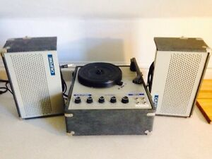 Vintage Califone 4 Speed Record Player From CEC School