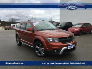 2014 Dodge Journey Crossroad LEATHER TRIMMED SEATS STEERING WHEE