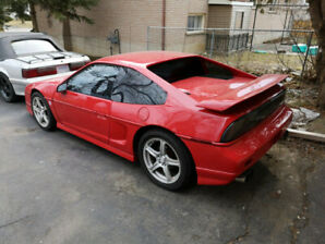 87 Fiero GT, supercharged 3.8L, 5 spd.