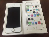 Gold iPhone 5S / 16GB ,, Rogers / Chatr & Mobilicity