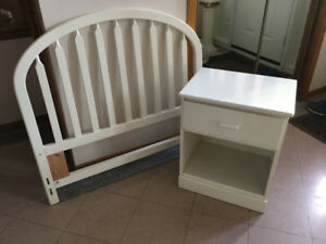 Little Folks  made in Canada.  Transitional bedroom set.
