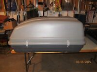 Vehicle roof top cargo box-VG condition