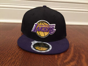 Kids Los Angeles Laker Fitted Cap