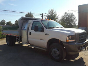 2003 Ford F-450 DUMP TRUCK TURBO DIESEL