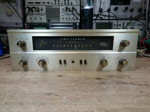 The Fisher Model 400 Vacuum Tube Receiver RECAPPED Awesome 850