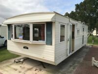 Bargain 12ft Wide Static caravan, Cracking pitch backing onto the fields, Cumbria 2 Bedroom