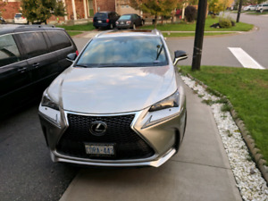 2017 Lexus NX200t f sport 3 top of the line lease take  over