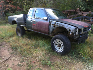 1993 Toyota solid axle swapped pickup