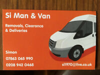 LOCAL MAN & VAN, BEST PRICES...07863 065 990...VERY HELPFUL, RELIABLE & PROMPT