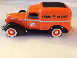 RARE DIE CAST FRAM FILTERS 1936 DODGE PANEL DELIVERY TRUCK London Ontario image 3