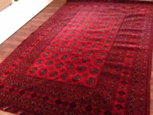 Fulfill your Toe Destiny - Antique Wool Rug 7 x 11ft - Cleaned