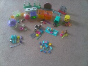 collectibles 1990-Littlest Pet Shop - 8 partial sets (60 pieces)