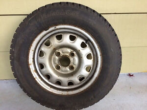 Set of 4 tires & rims