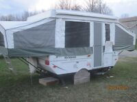 Hardtop Tent Trailer 10ft box..Exceptional Condition