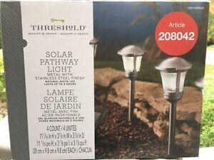 Solar outdoor lights - UNUSED!!!