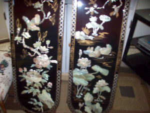 Chinese mother of pearl art