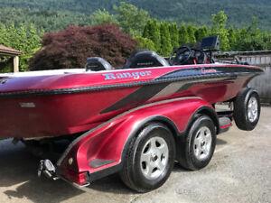 2002 Ranger 520 DVX bassboat