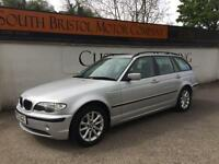 2003 53 FACELIFT BMW 320D 2.0TD SE TOURING ESTATE MET SILVER 120K