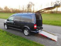 2014 14 Volkswagen Caddy 1.6 DSG AUTOMATIC Wheelchair Accessible Adapted Vehicle
