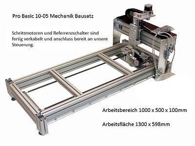 Pro Basic 10-05 / CNC Portalfräse Mechanik komplett, ohne Steuerung