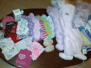 Girls 3-6 Month Clothing Lot