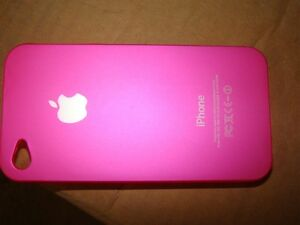 NEW COVER CASE FOR APPLE IPHONE 4, 4S SNAP PINK