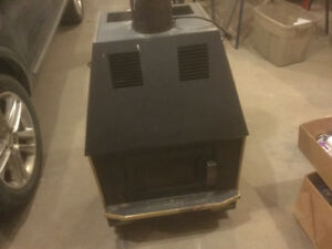 Wood burning stove for sale.