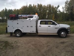 2014 Dodge 5500 service truck REDUCED