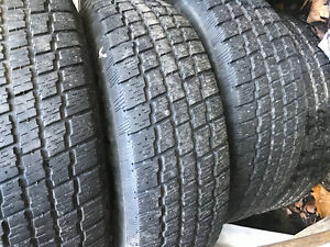 Tires on rims 215/75 R 14