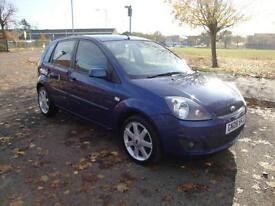 Ford Fiesta 1.25 Zetec Blue Special Edition, 2008, 68000 Miles FSH, One Owner