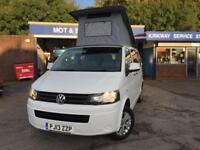 2013 13 Volkswagen Transporter 2.0TDi SWB T5 Camper campervan poptop