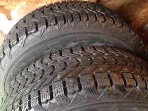 P225/70/16 Winter studded tires. St. John's Newfoundland image 2