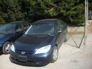 2005 Honda Civic Special Edition Sedan