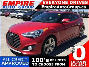 2013 HYUNDAI VELOSTER TURBO * LEATHER * SUNROOF * NAV * REAR CAM