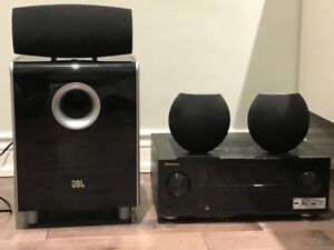 Pioneer VSX 1021-K receiver and 3.1 JBL Home Theatre System