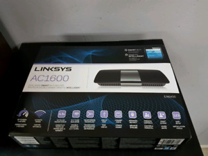 Linksys AC1600 dual band wifi router new