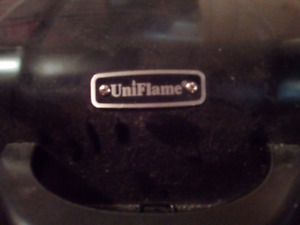 UNIFLAME PROPANE PORTABLE BARBECUE USED ONCE-30.00