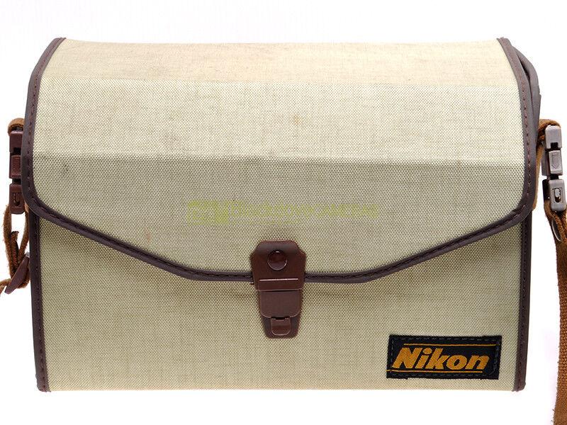 Bauletto vintage Nikon per attrezzatura. Da collezione.