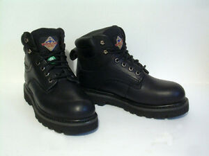 CSA Steel Toe Oil & Shock Resistant Leather - Size 7 EE