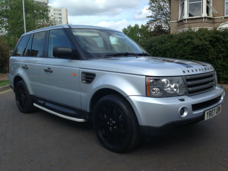 2007 range rover sport 2 7 tdv6 hse auto overfinch tv sat nav dvd parking aid in ilford. Black Bedroom Furniture Sets. Home Design Ideas