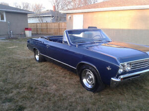 1967 chevy 2 dr convertible malibu parts for sale