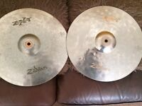 "Zildjian ZXT Titanium Rock 20"" Ride and 14"" Hi-hats"