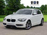 2012 12 BMW 1 SERIES 1.6 118I SPORT 5D 168 BHP FULL LEATHER SEATS+UPGRADE SOUND