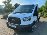 2018 Ford Transit 2.0 350 EcoBlue RWD L4 H1 EU6 2dr Dropside Diesel Manual