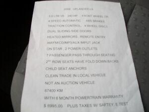 2009 Chevrolet Uplander LS , 7 Pass, 85000 Km Windsor Region Ontario image 15