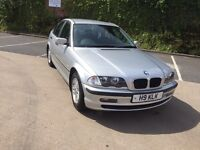 BMW 318I SE 3 SERIES, 2001, PRIVATE PLATE, 12 MONTHS MOT, CHEAP CAR.