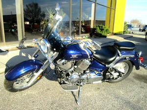 2008 Yamaha V-Star 650 Classic Only 2055 kms **Mint**
